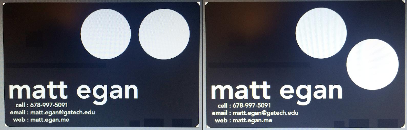 matt egan » electronic business card | pt. 3